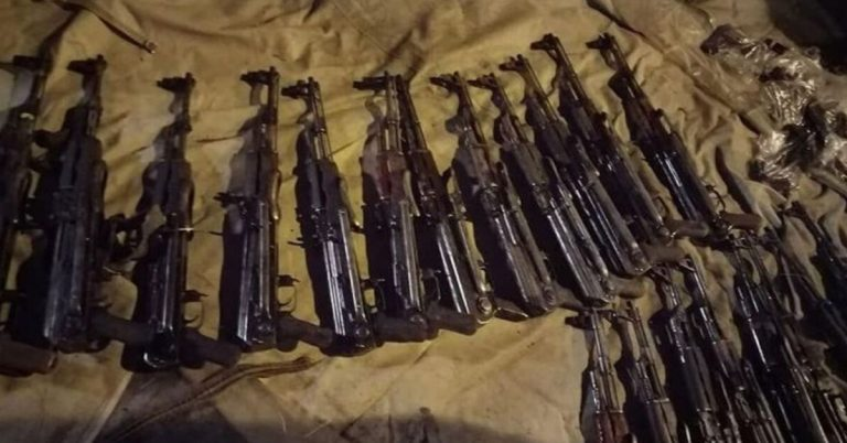 Ethiopia seizes large illegal weapons in sting operation