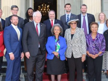 Visit of U.S. Delegation Led by Congressman David Price
