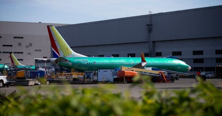 Review of 737 Max Certification Finds Fault With Boeing and F.A.A.