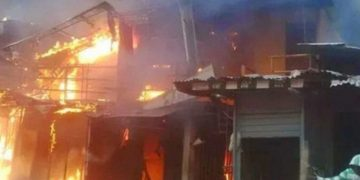 More than 30 Shops in Adama Damaged by Fire