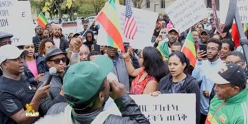 Ethiopians in the DC metro area Denounce the Killings in Oromia