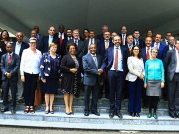 Gedu meets with EU Ambassadors