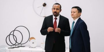 Abiy meet and discuss with Jack Ma of the Alibaba Group