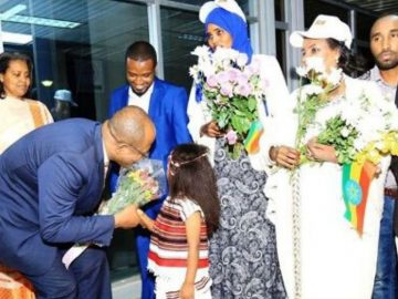 Ethiopian Public Diplomacy Team Arrives In Uganda