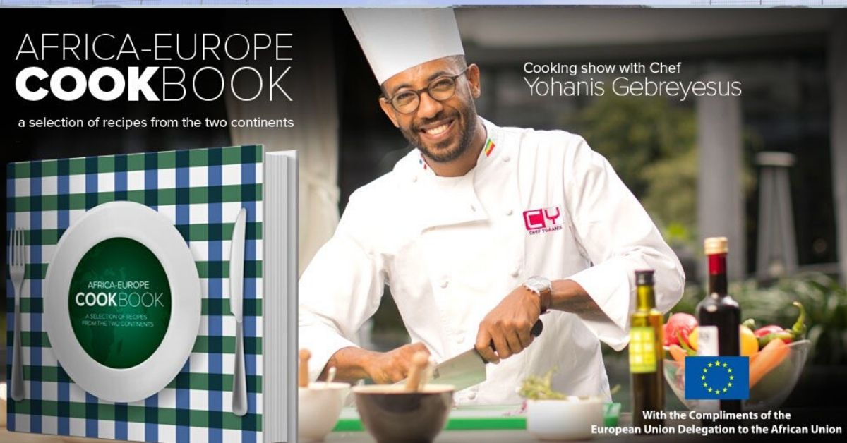 Africa-Europe Cookbook launched yesterday