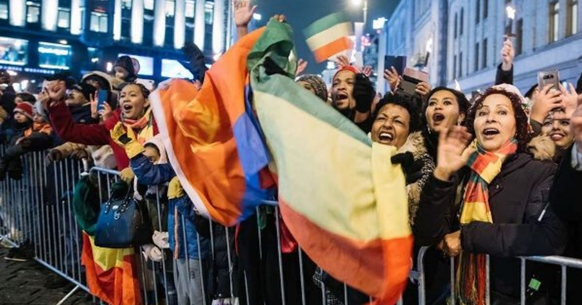 Ethiopians, Eritreans In Oslo Stage Rally To Congratulate PM Dr Abiy