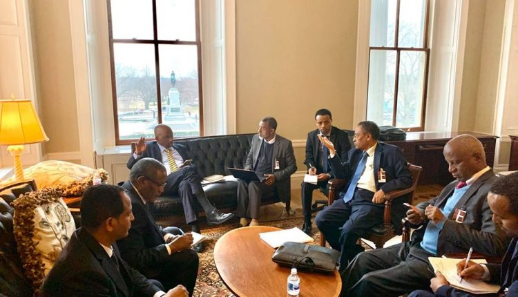 Ethiopia, Sudan, Egypt FMs Meet In Washington To Resolve Deference On GERD