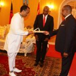 Amb Meles Presents Letters Of Credence