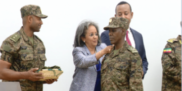 Ethiopia Promotes 65 Military Officers