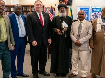 US Secretary of State discuss with Inter-Religious Council