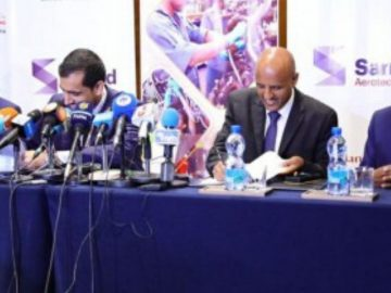 "Ethiopian, Sanad Aerotech Sign ""Landmark Agreement"""