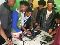 U.S., Ethiopia Artists Meet for Final Collaborative Performance at Yared Music School and Mekelle American Corner
