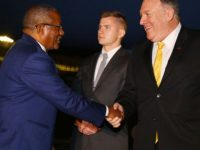 Secretary Pompeo Arrives In Addis Ababa