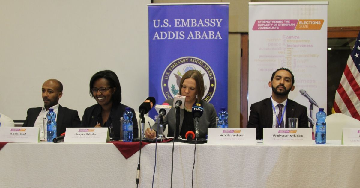 The United States Supports Elections in Ethiopia Through Nationwide Media Trainings